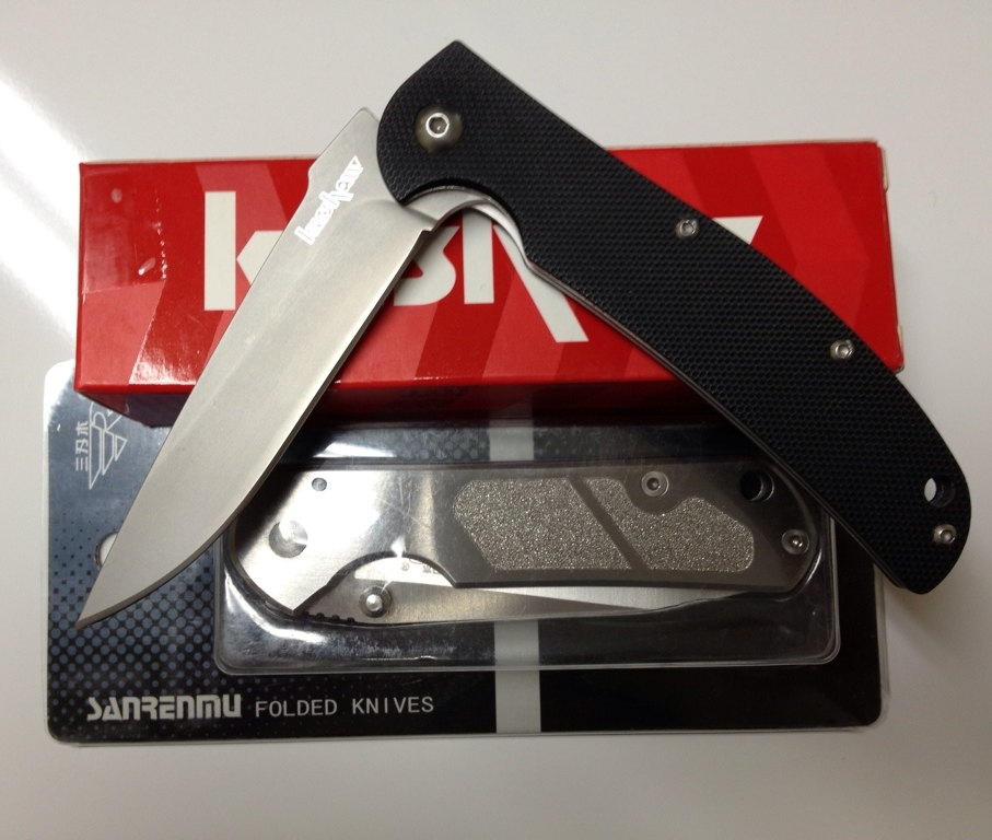 Kershaw Chill with Packaging